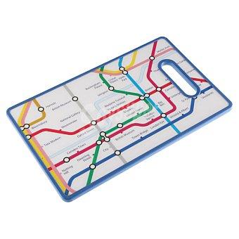 QUO Tabla de cortar metro Londres 37 x 22,5 cm 1 Unidad