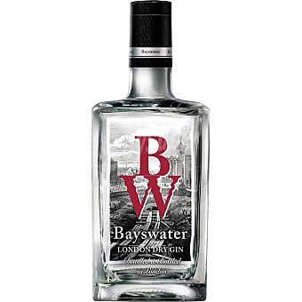BAYSWATER Ginebra London Dry gin  Botella de 70 cl