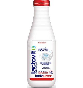Lactovit Gel de baño Lactourea con ácido láctico y urea pura piel muy seca y sensible Bote 650 ml