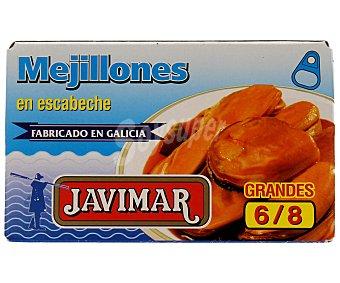 Javimar Mejillones en escabeche grandes 60 gramos