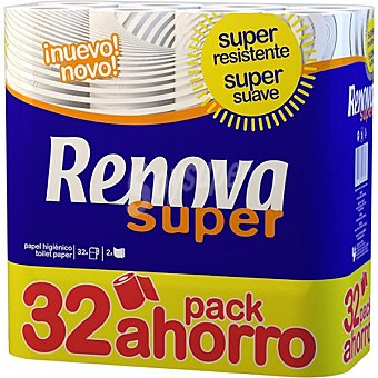 Renova Papel Higiénico Super 32 Rollos