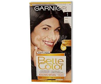 Belle Color Garnier Tinte capilar color negro nº001