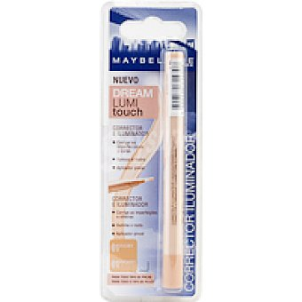 Maybelline New York Corrector luminoso Touch 01 Pack 1 unid