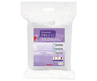 Auchan Almohada de fibra extra. Alta firmeza, 80 centímetros 1 Unidad