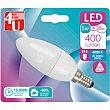 Bombilla LED Vela 6W E14 Neutra Bl1 400 lumen blister 1  FOR YOU