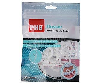 Phb Aplicador de hilo dental, especial para dientes anteriores flosser 30 uds