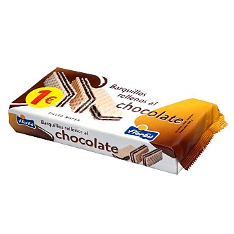 Florbú Barquillos rellenos al chocolate 280 g