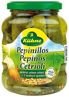 Kühne Pepinillos agridulces Frasco 330 g