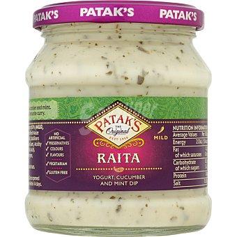 Patak's Salsa raita yogur, cucumber and mint dip Frasco 270 g