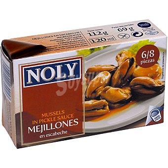 Noly Mejillones en escabeche 6/8 piezas 69 g