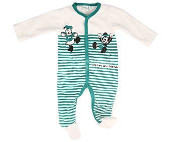 Disney Pijama pelele de bebé Mickey and friends, talla 74