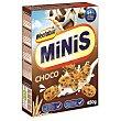 Cereal de trigo entero Minis Choco con trocitos de chocolate 450 g Weetabix