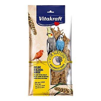 Vitakraft Alimento para pájaros, espigas de mijo 100 gr
