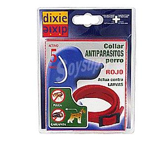 Dixie Collar Antiparasitario Larvicida Rojo 1u