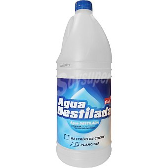 Aliada Agua destilada normal Botella 2 l