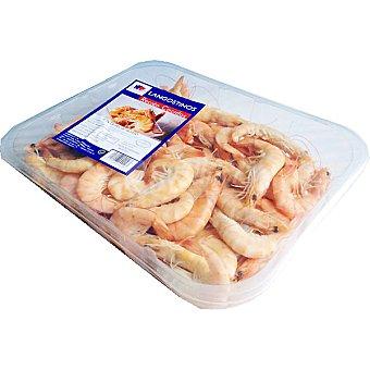 OCEAN CREST Langostinos cocidos 40-60 piezas/kg Bandeja 1 kg