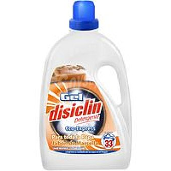 Disiclin Gel detergente eco-express Marsella Botella 28 dosis