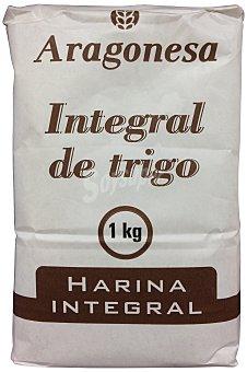 Aragonesa Harina trigo integral Paquete 1 kg
