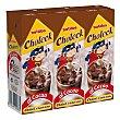 Batido de chocolate Pack de 3 briks de 200 ml Choleck