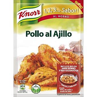 Knorr Sazonador pollo al ajillo Sobre de 32 g