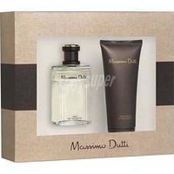 Massimo Dutti Colonia para hombre-after Shave Pack 1 unid