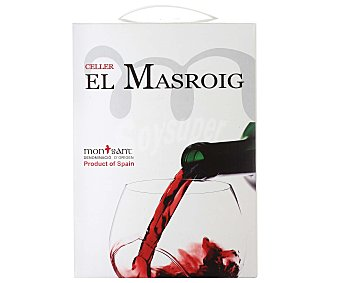 CELLER EL MASROIG Vino tinto con denominación de origen Montsant celler EL masroik 3 litros