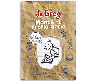 INFANTIL JUVENIL Diario de Greg, monta tu propio diario, jeff kinney, género: infantil, editorial: rba. Descuento ya incluido en pvp. PVP anterior: