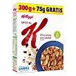 Cereales de arroz y trigo con chocolate con leche 300 g Special K Kellogg's