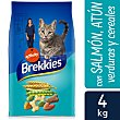 Pienso seco para gatos Excel feline salmón, atún y verduras Bolsa 4 kg Brekkies Affinity
