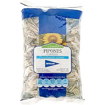 Hipercor Pipón de girasol tostados y salados Bolsa 250 g