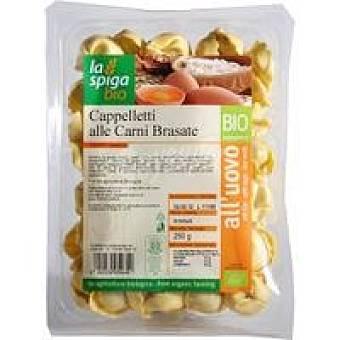 LA SPIGA Tortelloni con carne Paquete 250 g