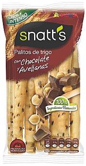 Snatt's Grefusa Palitos de trigo con chocolate y avellanas 68 g
