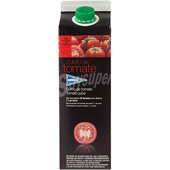 Hipercor Zumo de tomate Envase 1 l