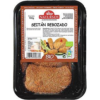 Natursoy bio seitán rebozado en filetes Envase 180 g