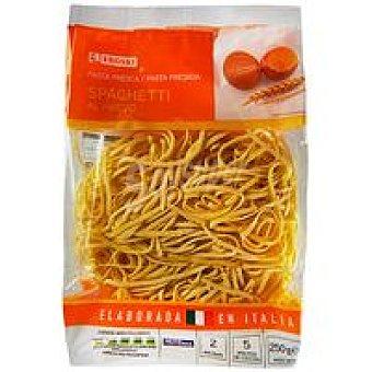 Eroski Spaghettis al huevo Bolsa 250 g