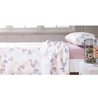 CASACTUAL Greenwich juego de cama pirineo con tonos beige para cama 90 cm