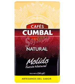 Cumbal Café natural molido 250 g
