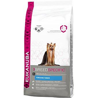 EUKANUBA YORKSHIRE TERRIER Alimento completo para yorkshire terrier y caniches toy para mantener el pelo brillante bolsa 2 kg Bolsa 2 kg