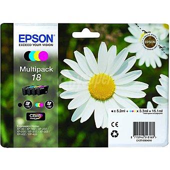 Epson Nº 18 cartucho de tinta multipack 4 colores