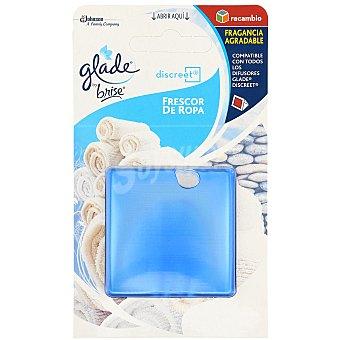 Glade by brise Ambientador Discreet Frescor Ropa 1 recambio