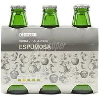 Eroski Sidra Extra Pack 6x25 cl