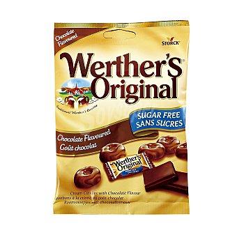 Werther's Original Caramelos sabor a chocolate sin azúcar Bolsa 60 g