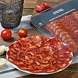 Chorizo de bellota ibérico 50% raza ibérica loncheado Sánchez Montero Envase 100 g Sanchez Montero