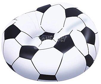 Euraspa Puff con forma de balón de fútbol, 114x112x71 centímetros, EURASPA.