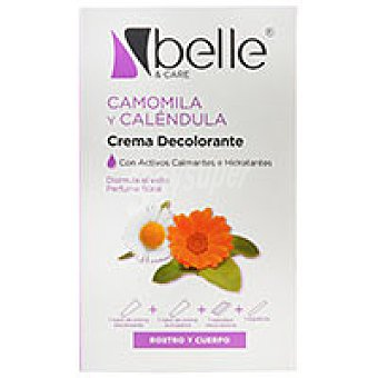 Belle Crema decolorante de vello 2x50 ml