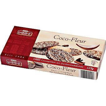 LAMBERTZ Coco Fleur Galletas con chocolate y ralladura de coco Estuche 125 g