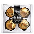 Muffins con pepitas de chocolate 300 g Dulcesol Black