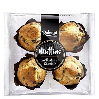 Dulcesol Black Muffins con pepitas de chocolate 300 g