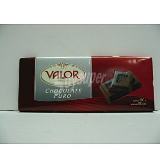 Valor Chocolate puro Tableta 300 g