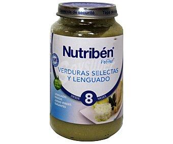 Nutribén Potito verduras selectas y lenguado 250 g